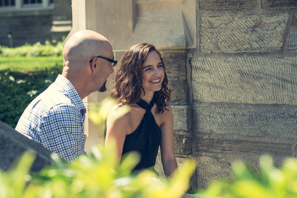Danielle and Ryan - Professional Engagement Portrait by Chris Corrao