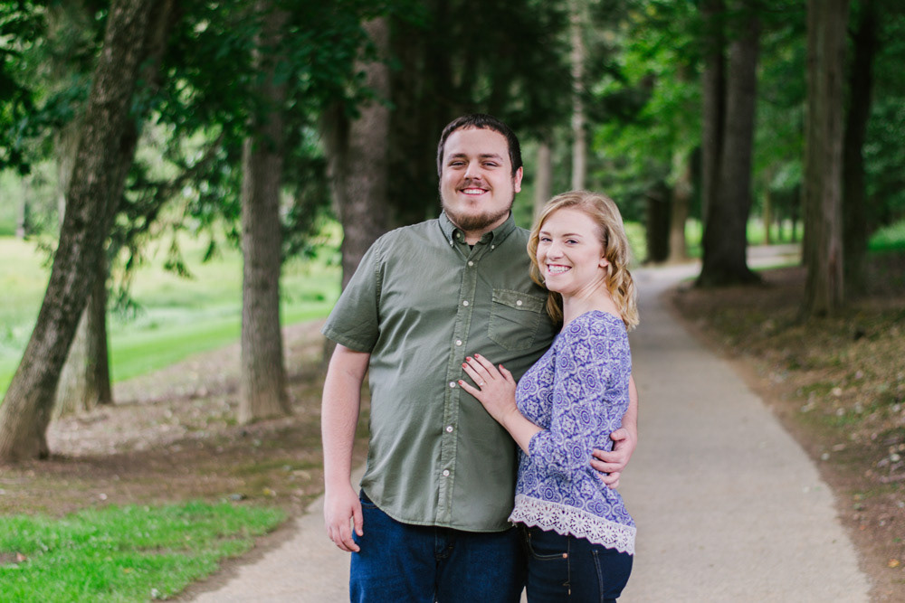 Kelly and Tyler - Professional Engagement Portrait by Chris Corrao