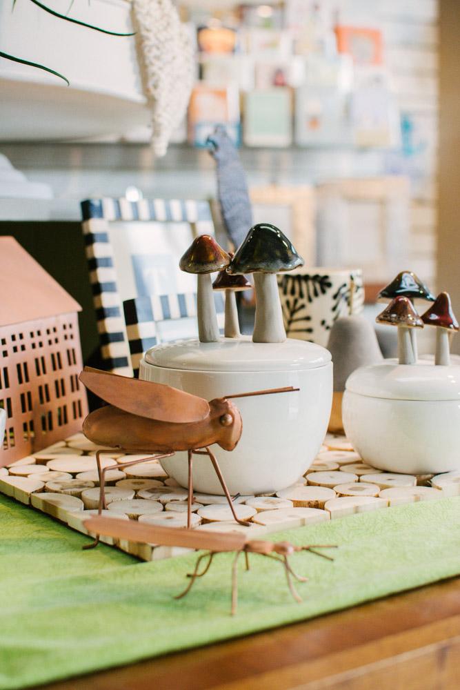 copper figurines and ceramics The Framery Etc