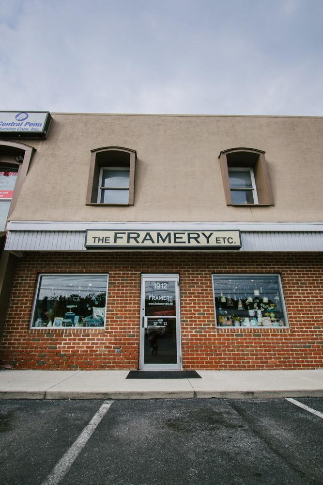 The Framery Etc storefront lancaster pa