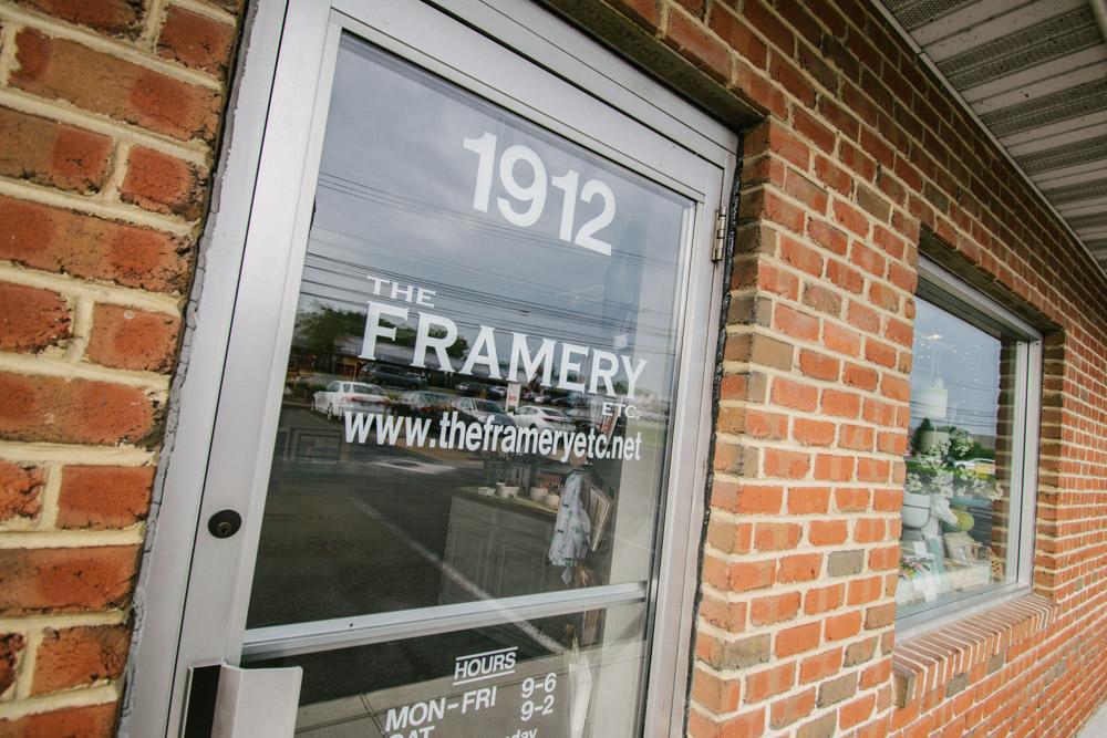 The Framery Etc storefront