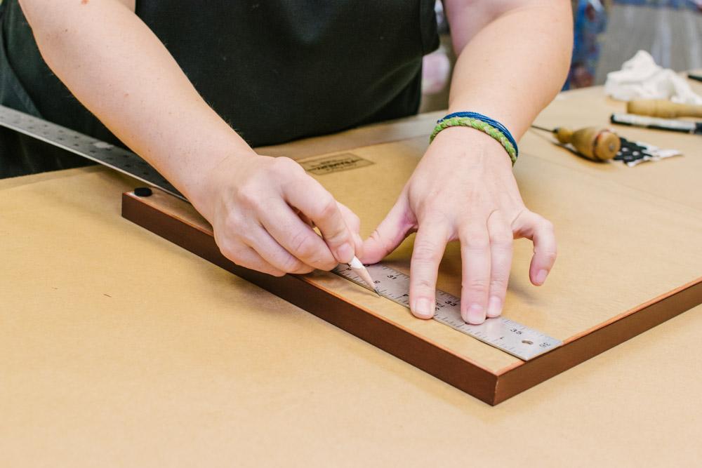 hand built custom frame
