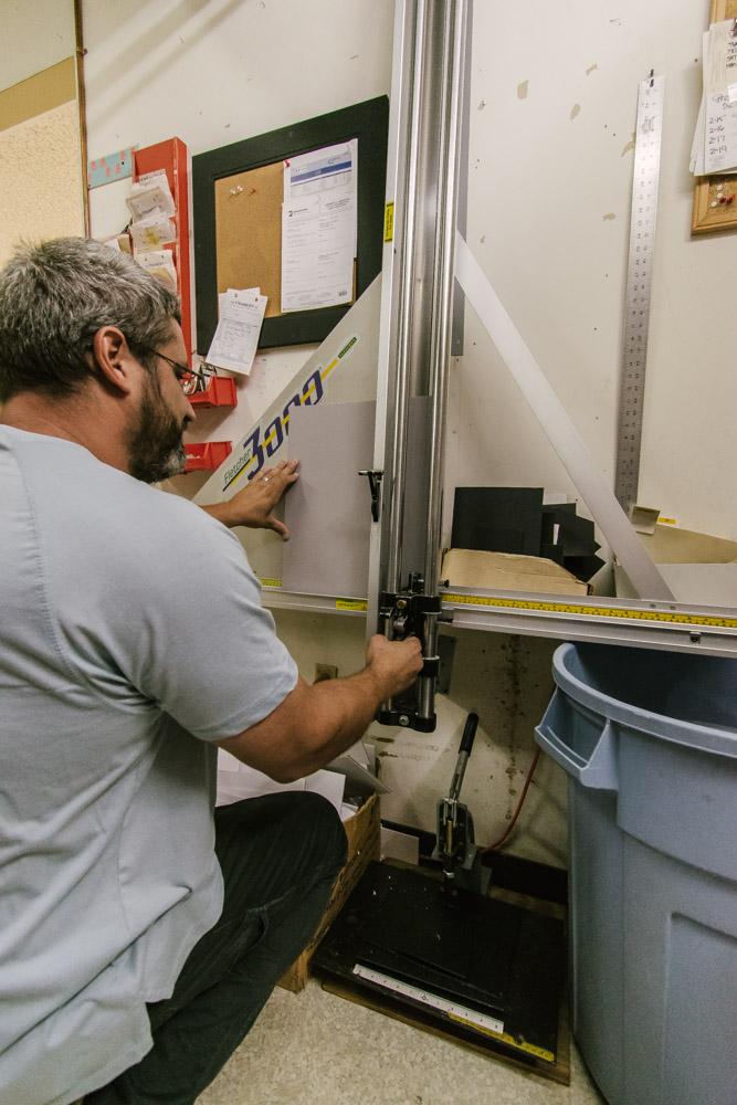 The Framery Etc Lancaster PA matte cutter