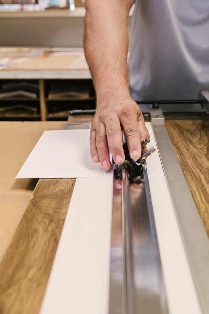 matte cutting professional framer