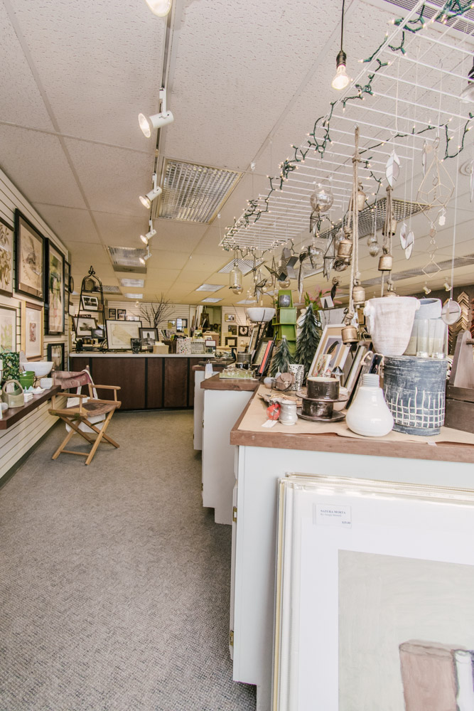 the shop at The Framery Etc